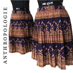 Anthropologie: Edme & Esyllte | Pleated Skirt| M